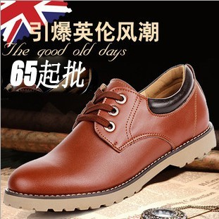 Freight Amendment 2013 New Style Men Genuine Leather Special Price Shoes Business Dress British Fashion Shoes For Man Wholesale