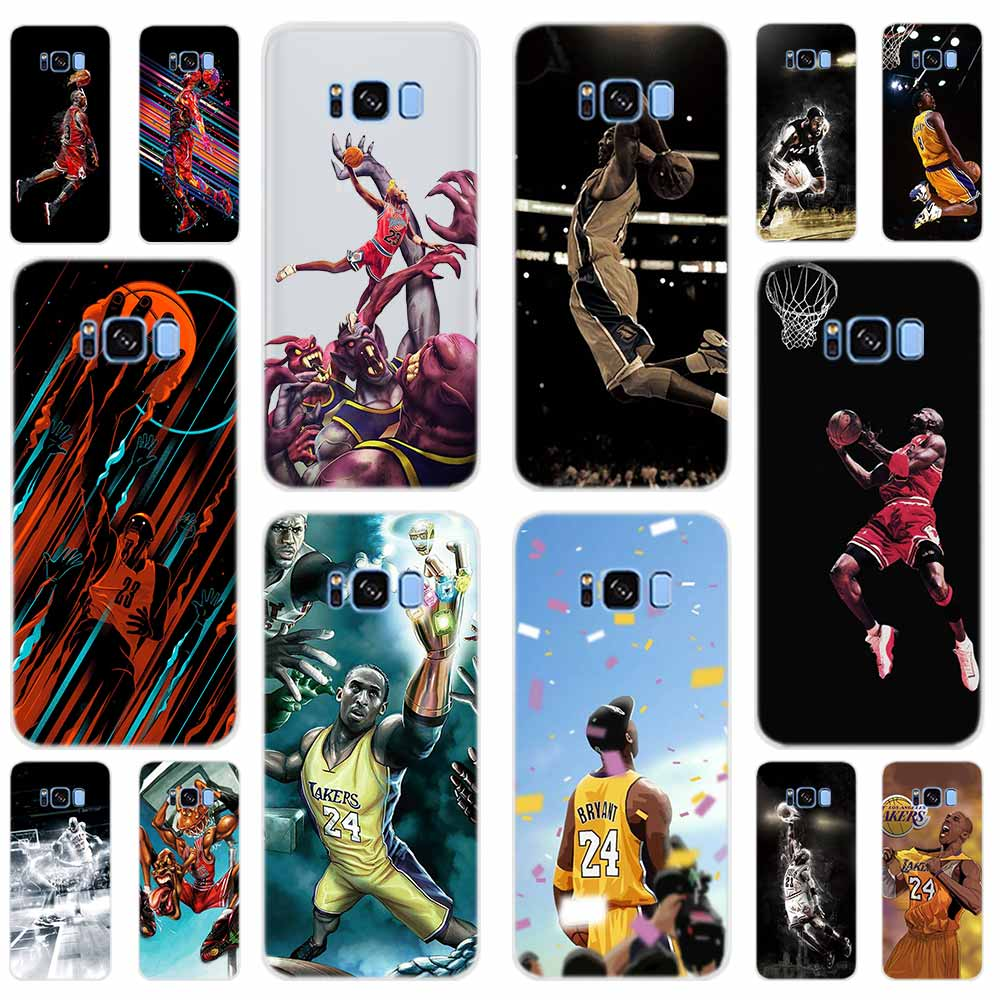 Cover For S7-Edge Basketball-Dark S9 Plus 8-9 S5-Case Samsung Galaxy Plus-E-Note S10