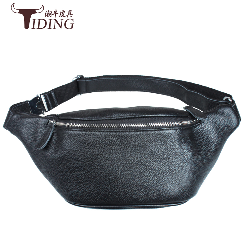 man crossbody bags cow leather 2017 new men real leather vintage casual fashion brand waist bags genuine leather waist packs men crossbody bags real leather 2017 new man fashion vintage brand shoulder messenger bags cow leather casual black bag male