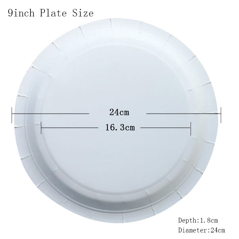 Colorful Diamond Round Paper Plates Children Birthday Party Supplies Disposable Tableware-in Disposable Party Tableware from Home u0026 Garden on Aliexpress.com ...  sc 1 st  AliExpress.com : diamond paper plates - pezcame.com