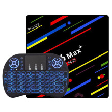 H96 MAX Plus Smart Tv Box Android 8.1 RK3328 4GB RAM 64GB ROM Set Top Box 2.4G/5G Wifi 4K H.265 4GB 32GB Media Player h96 max h2 4gb ram 32gb rom smart tv box rk3328 set top box 100m lan 5 0g wifi bluetooth 4 0 hd 4k media player