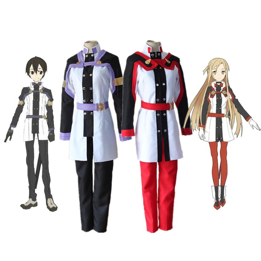 Sword Art Online ALfheim Online Kazuto Kirigaya kirito UPSCALE cosplay costume