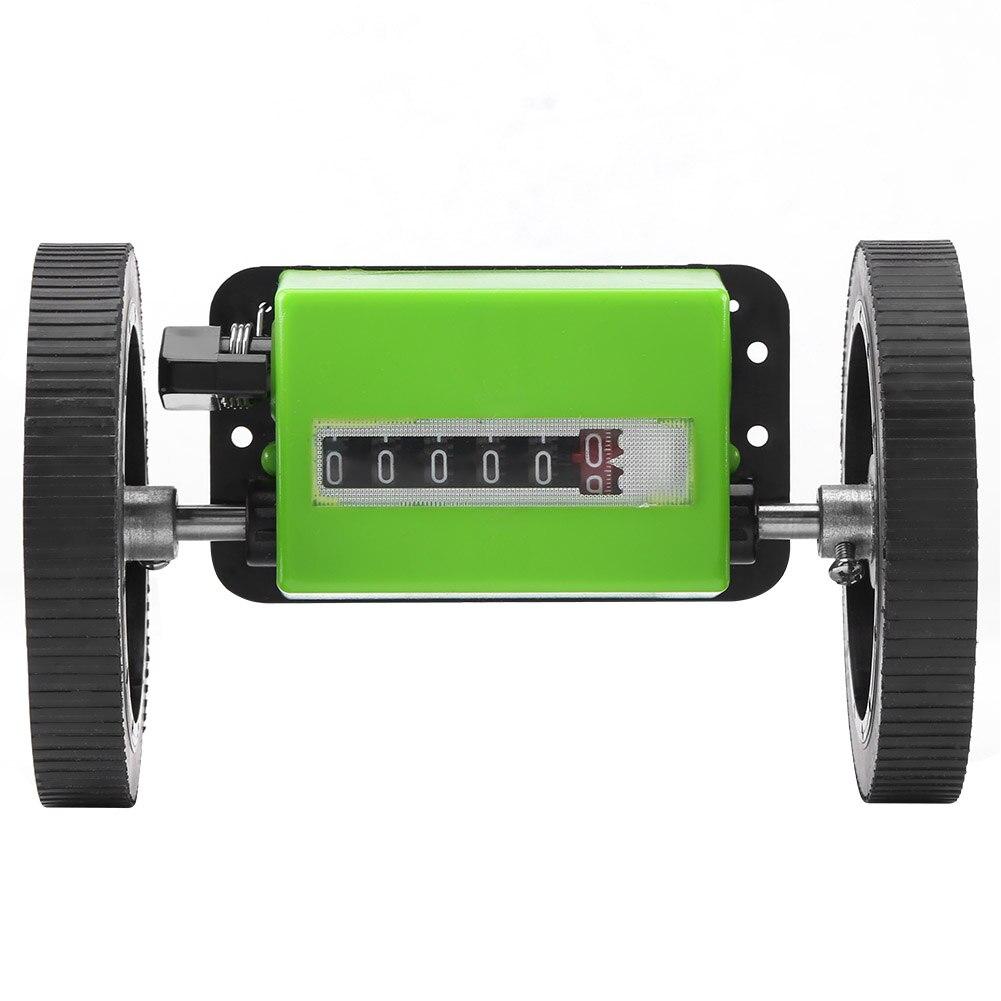 NEW JM316 6-Digit  Mechanical Yard Counter Length Counter Rolling Wheel Decoder