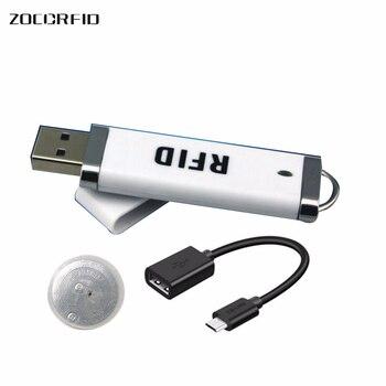 MINI U-disk style USB port  ISO15693 13.56Mhz NFC  RFID reader 13.56MHz Ntag-213 RFID Reader+ NFC tag 5 pcs yongkaida 13 56mhz rfid usb bluetooth rfid reader acr1255u j1 nfc reader