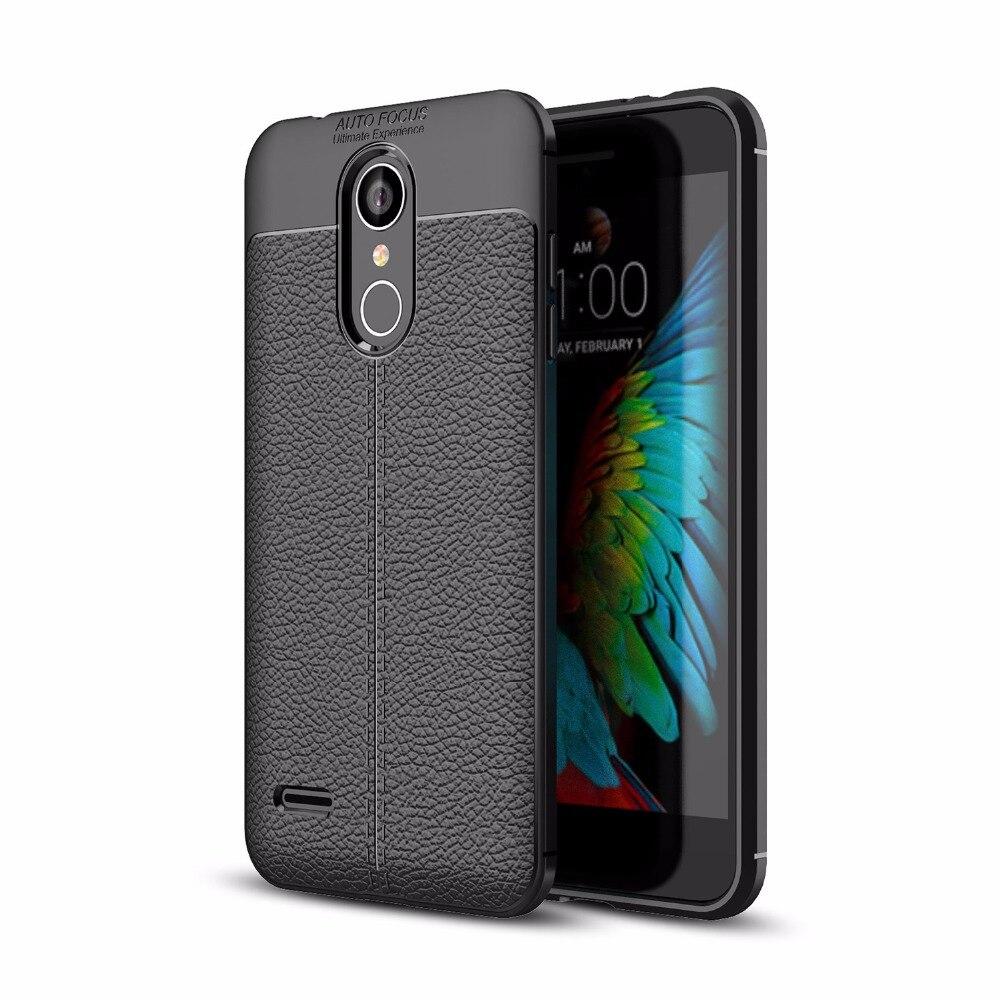 Для LG K9 K11 ультра тонкий искусственная кожа чехол противоударный Гибкая Резина TPU силиконовая защитная крышка делам для LG k8 K10 2018