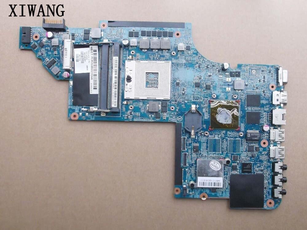 659998-HM65 001 para HP DV6 DV6-6000 laptop motherboard para Intel gráficos Discretos motherboard 100% teste passado!!! Frete grátis