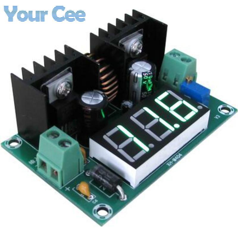 xl4016 circuit - XL4016 LM317 LED Digital Voltmeter Voltage Regulator Meter XL4016E1 DC-DC Buck Step Down Module 200W 8A PWM 4-40V to 1.25-36V