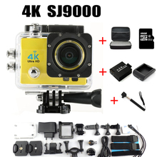 Wifi Waterproof Action Camera Diving 30M 1080P Full HD Underwater Sports Cam Sport DV +Option Battery Monopod Momery Card