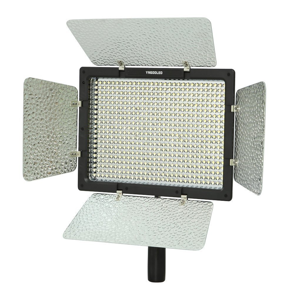Yongnuo YN-600 Pro LED Video Light 3200K - 5500K Dual Color Temperature Version