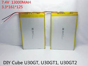 Batteries 13000mah U30GT Tablets DIY Pc Four-Core 33161125 Dual Size:3.3--161--125-Mm