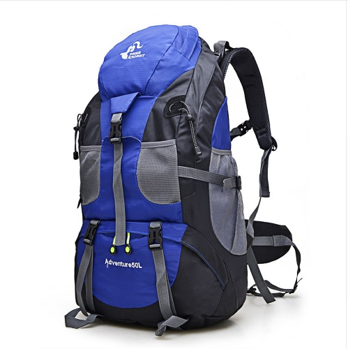 POPIGIST Outdoor Backpack Camping Bag Waterproof Mountaineering Hiking Backpacks Climbing Rucksack 50L