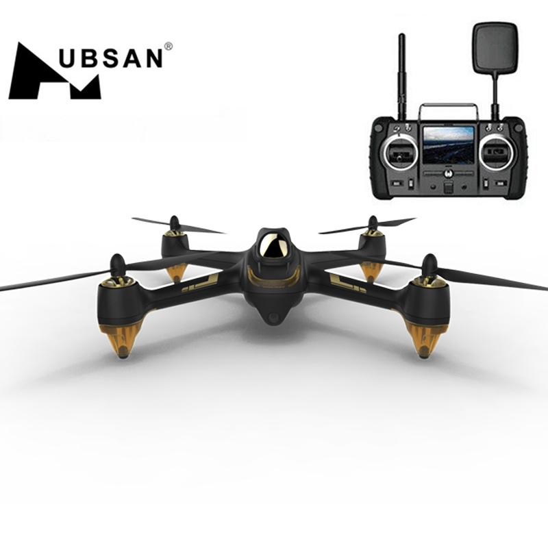 Hubsan H501S X4 Pro 5.8G FPV Brushless With 1080P HD Camera GPS RTF Follow Me Mode Quadcopter Helicopter RC Drone Free Shipping 7 4v 2700mah 10c battery 1 in 3 cable usb charger set for hubsan h501s h501c x4 rc quadcopter