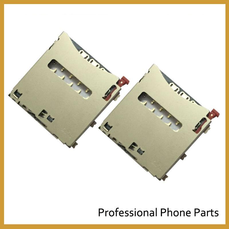Original Sim Card Reader Holder Slot Connector For Sony Xperia Z Ultra ZU XL39H C6802 C6833 Sim Reader Replacement