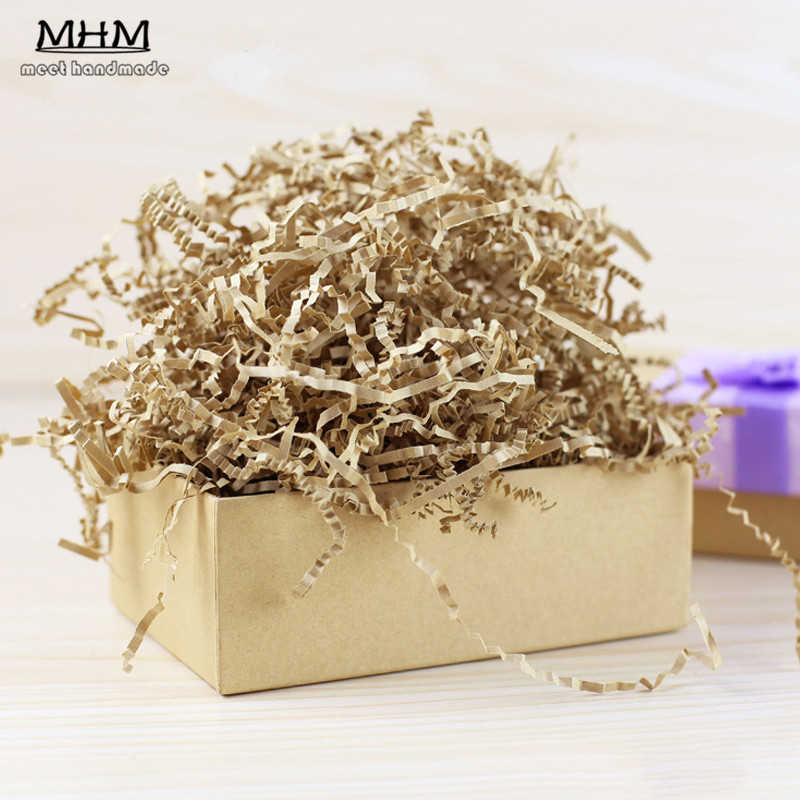 ... 50g Raffia Wrapping Paper Shredders Packaging Fillers and Candy Gift Box Packing Buffer To Decorate Wishing ...