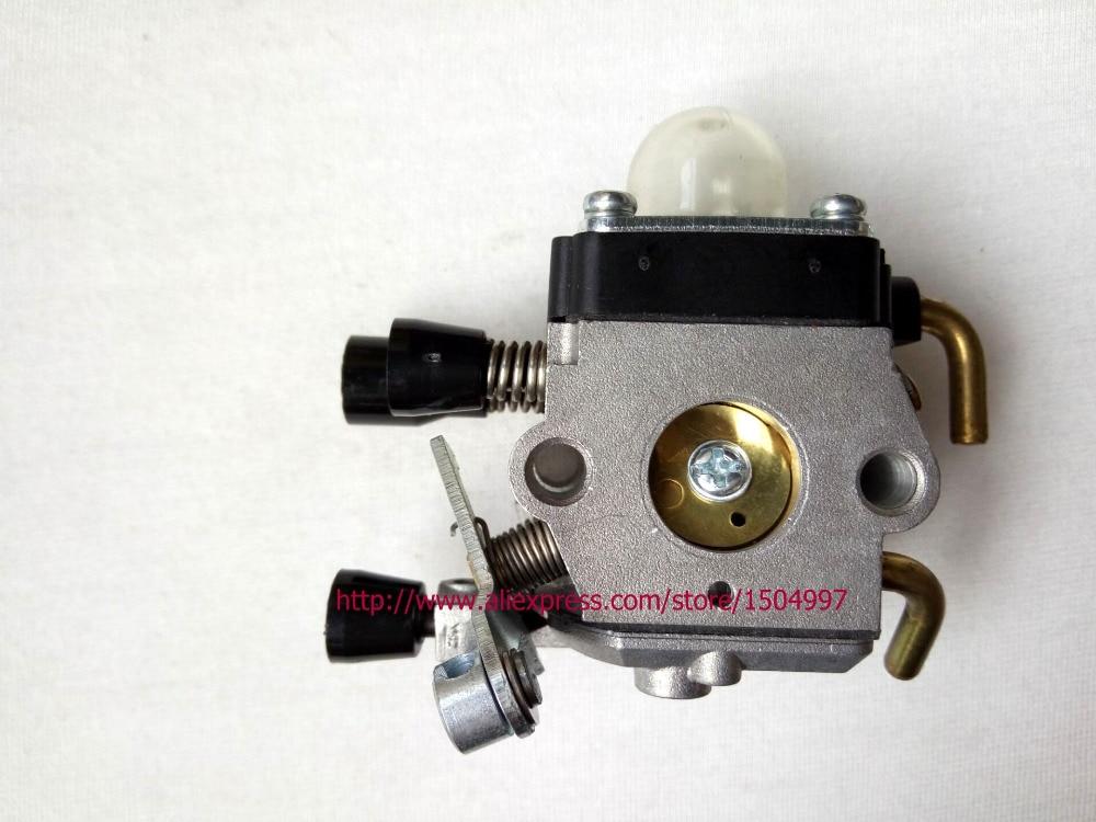 Replacement Parts TRIMMER WEED EATER CARB CARBURETOR for fur STIHLSS FS55 FS55C FS55R FS55T FS55RC cylinder piston kits with carburetor carb fit stihl fs55 fs45 br45 km55 hl45 hs45 km55 hl45 hs45 hs55 trimmer 34mm