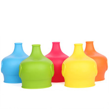 1 PC Silicone Lids for Baby Drinking Converts Any Cup or Glass to a Cup Makes Drinks Spillproof, Reusable, Durable