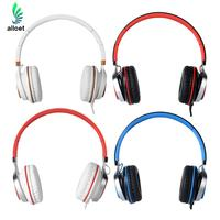 New IP-2050 Foldable 3.5mm Stereo Wired Headphone Earphone Headset For iPhone Windows ANDROID 4 Colors
