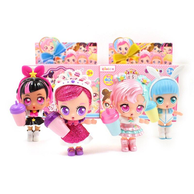 Eaki Echtem Kinder Spielzeug lol Puppen ball mit Original Box Puzzle spielzeug Spielzeug für Kinder geburtstag Weihnachten geschenke