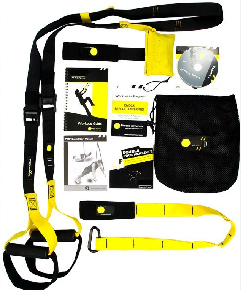 Top Quality Comprehensive fitness exercise Fitness Equipment Resistance Bands Hanging Training Strap цены онлайн