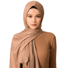 Hot Sale Plain Muslim hijab islamic women jersey scarf hijabs cotton scarves Wholesale