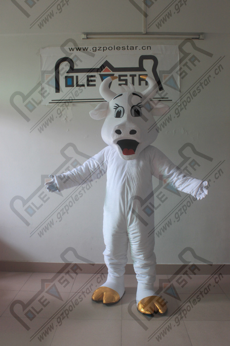 hot sale bull mascot costumes ox mascot costumes 3D bullfight costumes red cattle mascot costumes