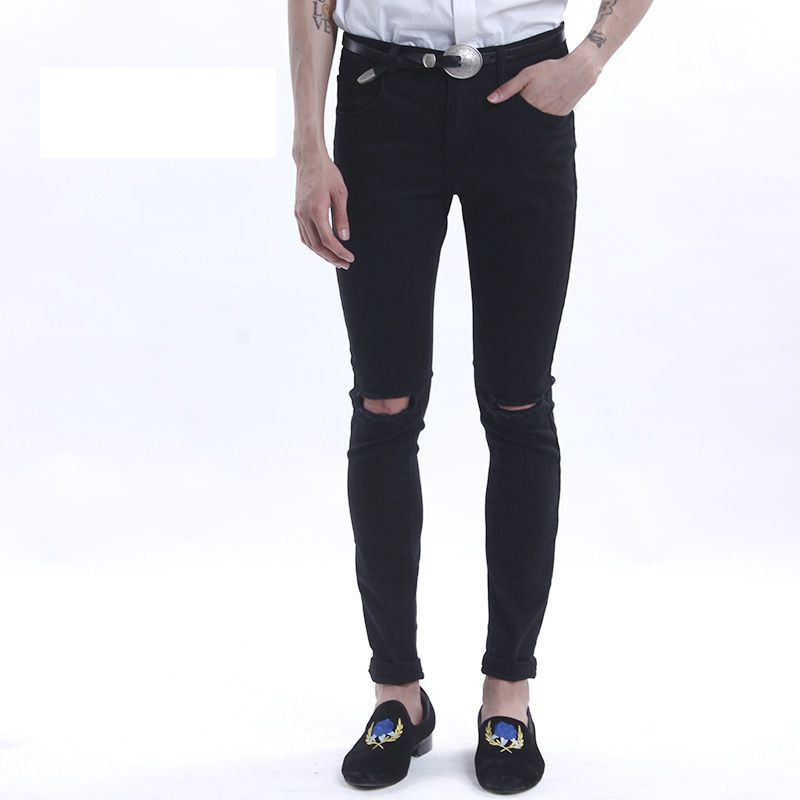 Aliexpress.com : Buy 2015 new mens ripped jeans for men skinny