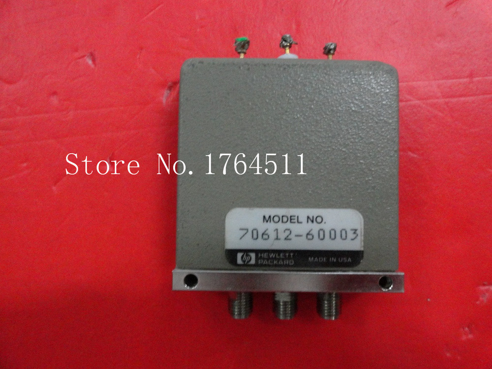 [SA] SPDT RF switch original 70612-60003 DC-4GHZ 24V hoxwell sa 4000