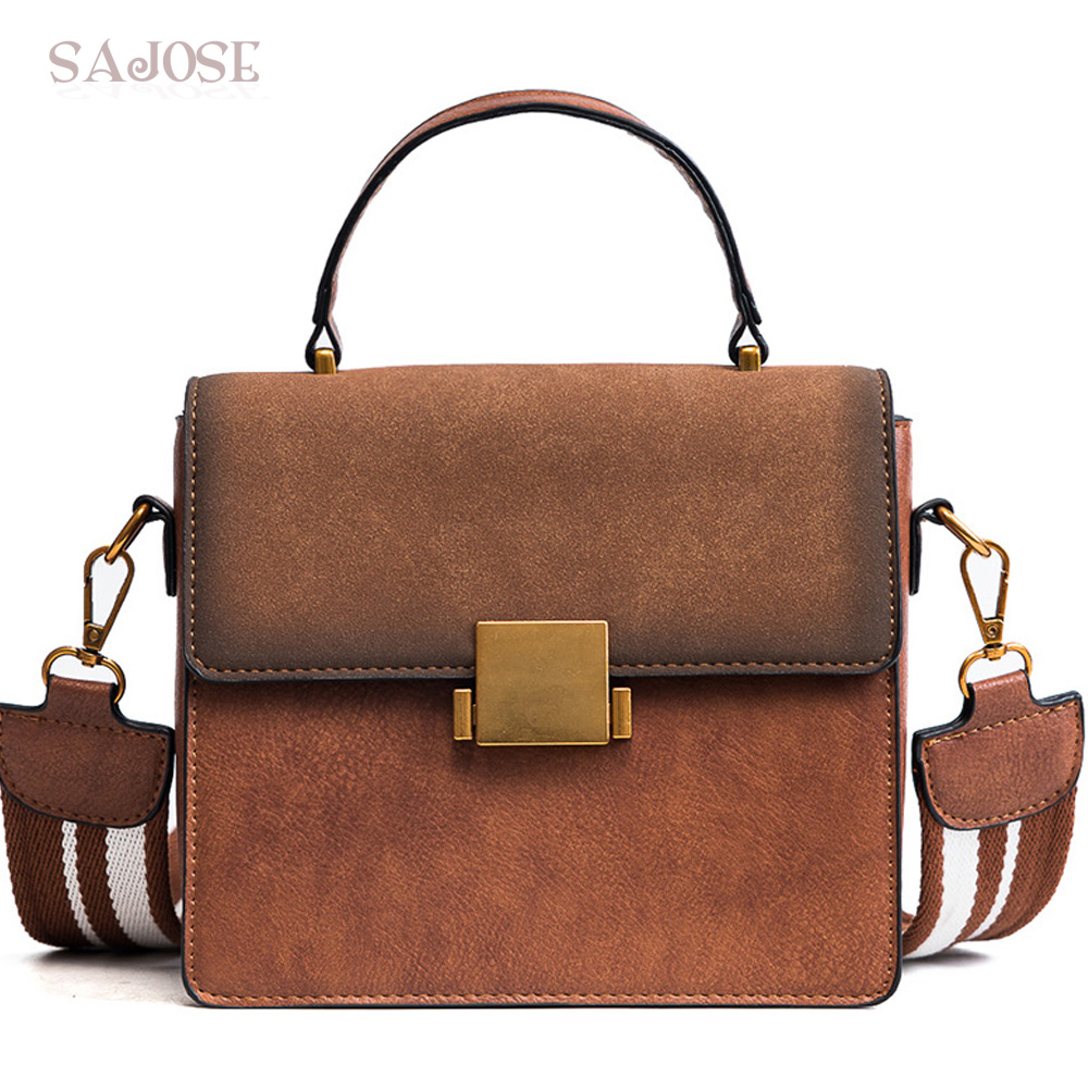 Women Leather Totes Bag Handbag Fashion Vinage Designer Famous Brand High-Quality Messenger Lady Shoulder Bags Drop Shipping