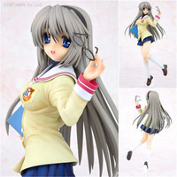 4 Leaves Clanned Sakagami Tomoyo 1/6 Pre painted PVC Action Figure Model Toys Kawaii Anime Girl Dolls Brinquedos 25cm