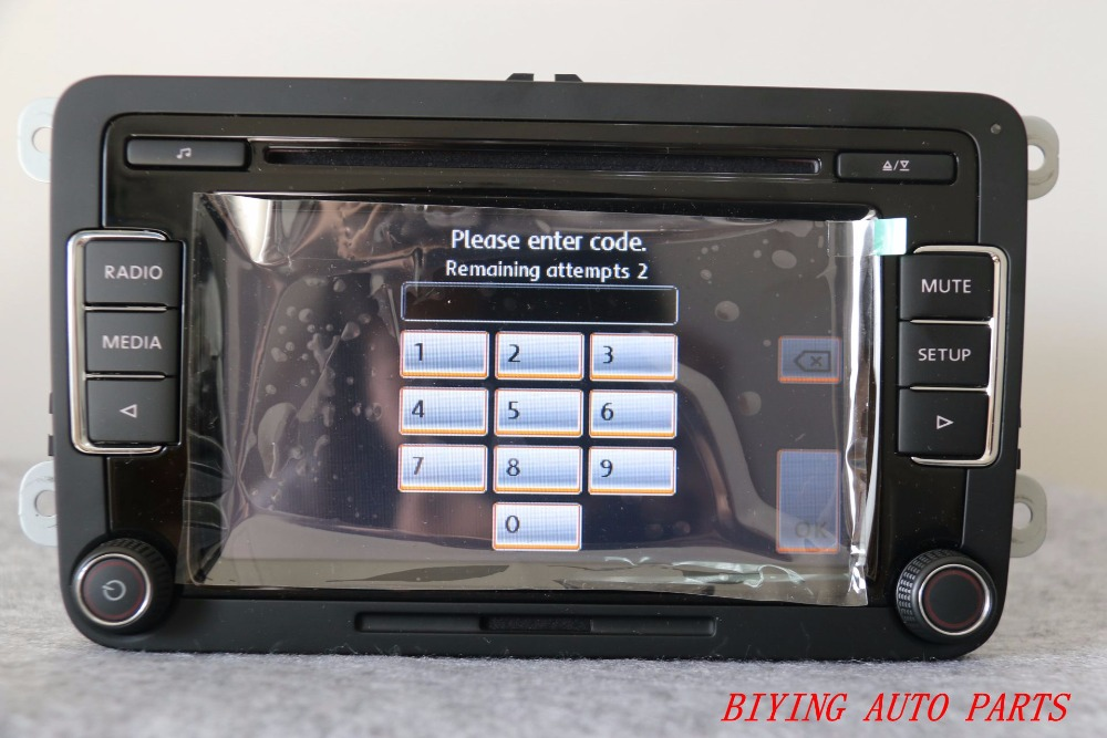 buy car radio rcd510 cd usb aux rvc rear. Black Bedroom Furniture Sets. Home Design Ideas