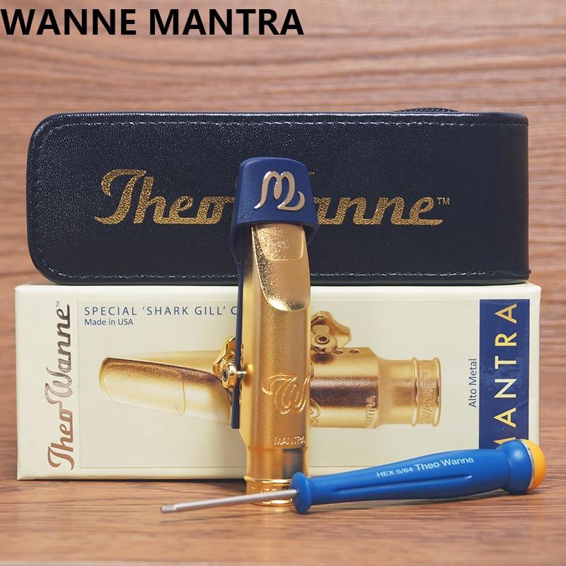THEO WANNE MANTRA alto sax metal mouthpiece theo