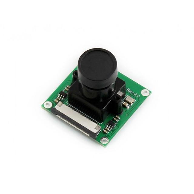 Módulo Waveshare Raspberry Pi Camera (B) módulo Ajustável Kit-focus 5 MP Sensor OV5647 Para RPi 3 Modelo B/2 B/B + A +