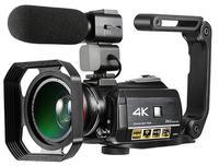 Winait 4 K Цифровая видеокамера ночного видения с Wifi и сенсорным дисплеем Цифровая видеокамера