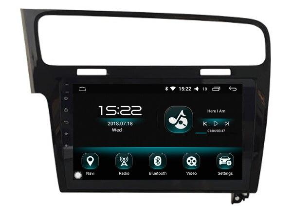 Ajustement pour/Golf 7 otojeta android 8.0 octa core voiture lecteur multimédia autoradios carplay et android auto radio 3G GPS - 5