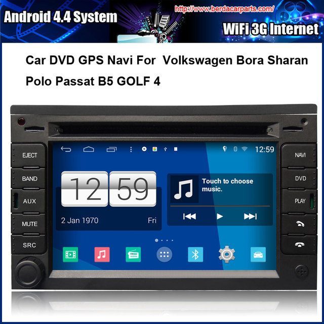 android car dvd player for vw passat b5 jetta golf 4 bora. Black Bedroom Furniture Sets. Home Design Ideas
