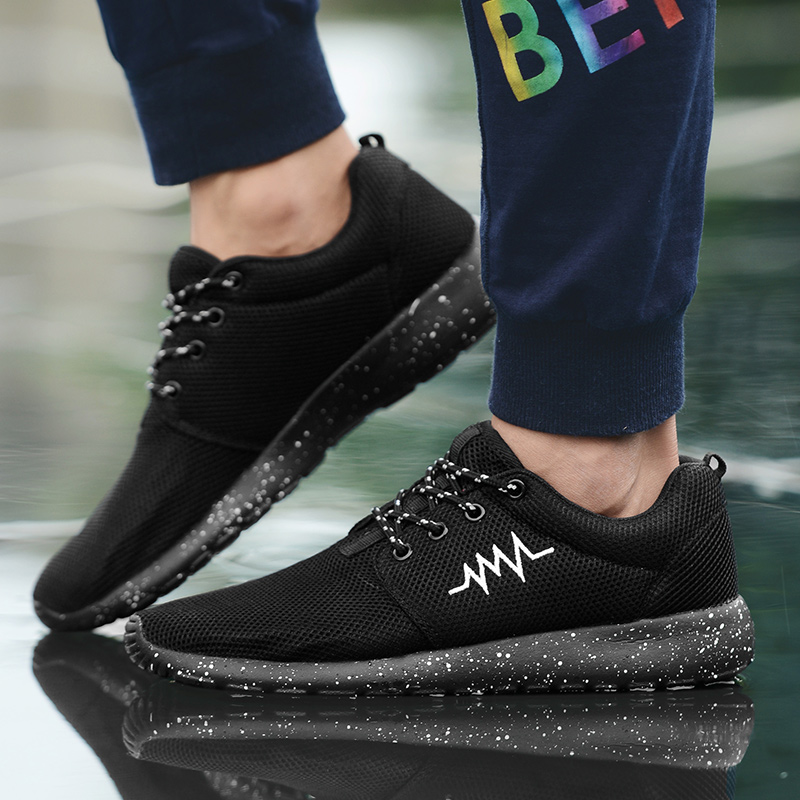 CASMAG Classic Men and Women Sneakers Outdoor Walking Lace up Breathable Mesh Super Light Jogging Sports Running Shoes 50