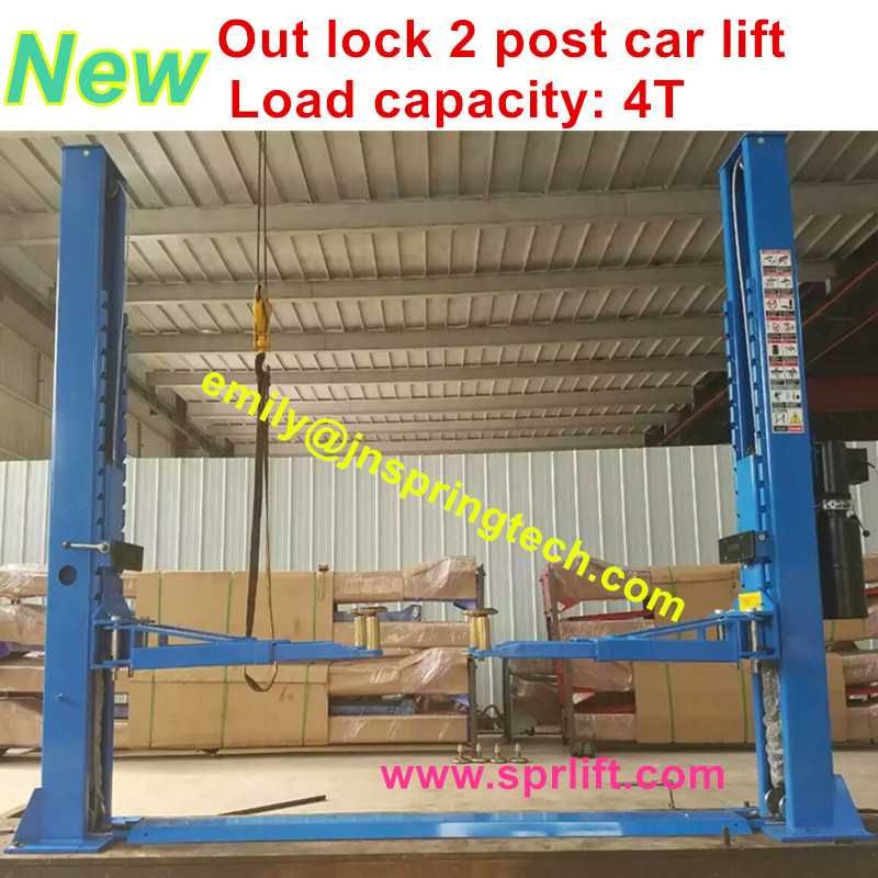 Automatic Two Post Car Lift With Factory Price For Car