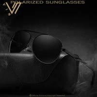 Brand Unisex Retro Aluminum Men Sunglasses Polarized Lens Vintage Eyewear Sun Glasses For Men Oculos De Sol Masculino 2017 New