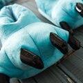 Забавное Животное Лапой Зимние Тапочки Мужчин и Женщин Монстр Тапочки Главная Коготь Дети Симпатичные Зима Плюшевые Тапочки Крытый Обувь