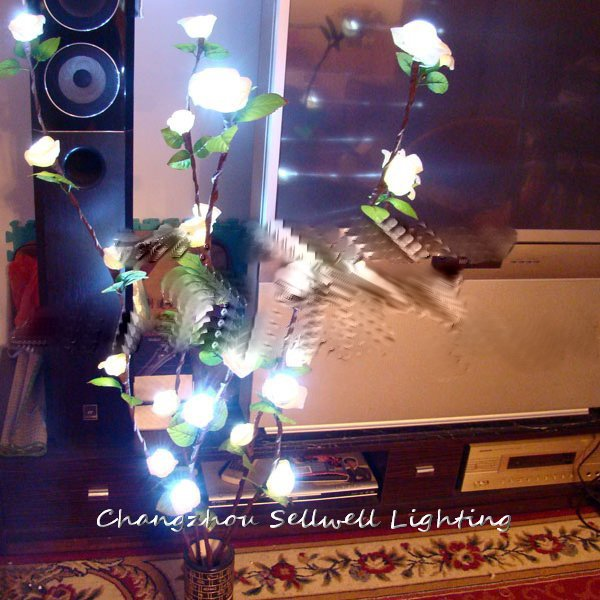 ФОТО  Rushed Real Christmas Tree Christmas Gift New!holiday Lighting House Accessory Wedding Celebration Product Rose Lamp H235