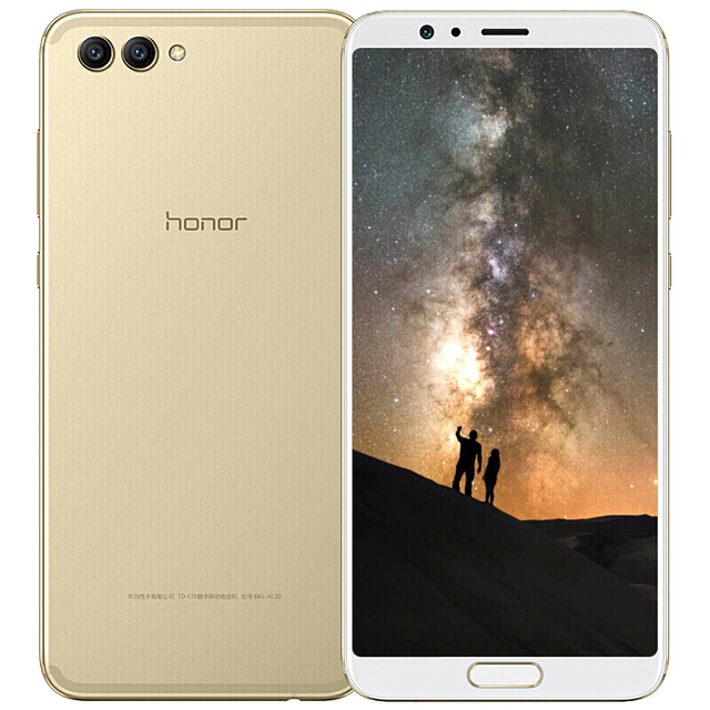 Global Rom Huawei Honor V10 64GB 20MP+16MP Dual Rear Cameras 3750mAh 5.99 5