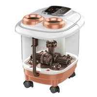 Foot Tub Automatic Massager Leg Wash Barrel Plantar Washing Machine Electric Massage Home Heating Thermostat Feet Bath Hot Sale