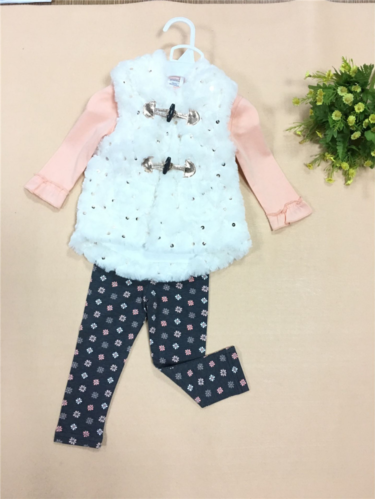 12m 5t Baby Girl Clothes 2017 Spring Autumn Hot Sale