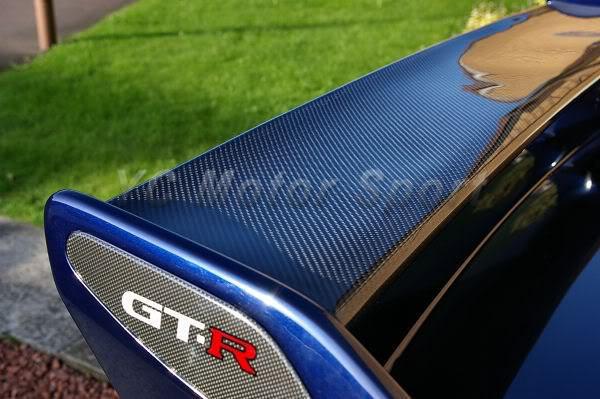 1995-1998 Nissan Skyline R33 GTR GTS OEM Rear Spoiler Blade CF (13)