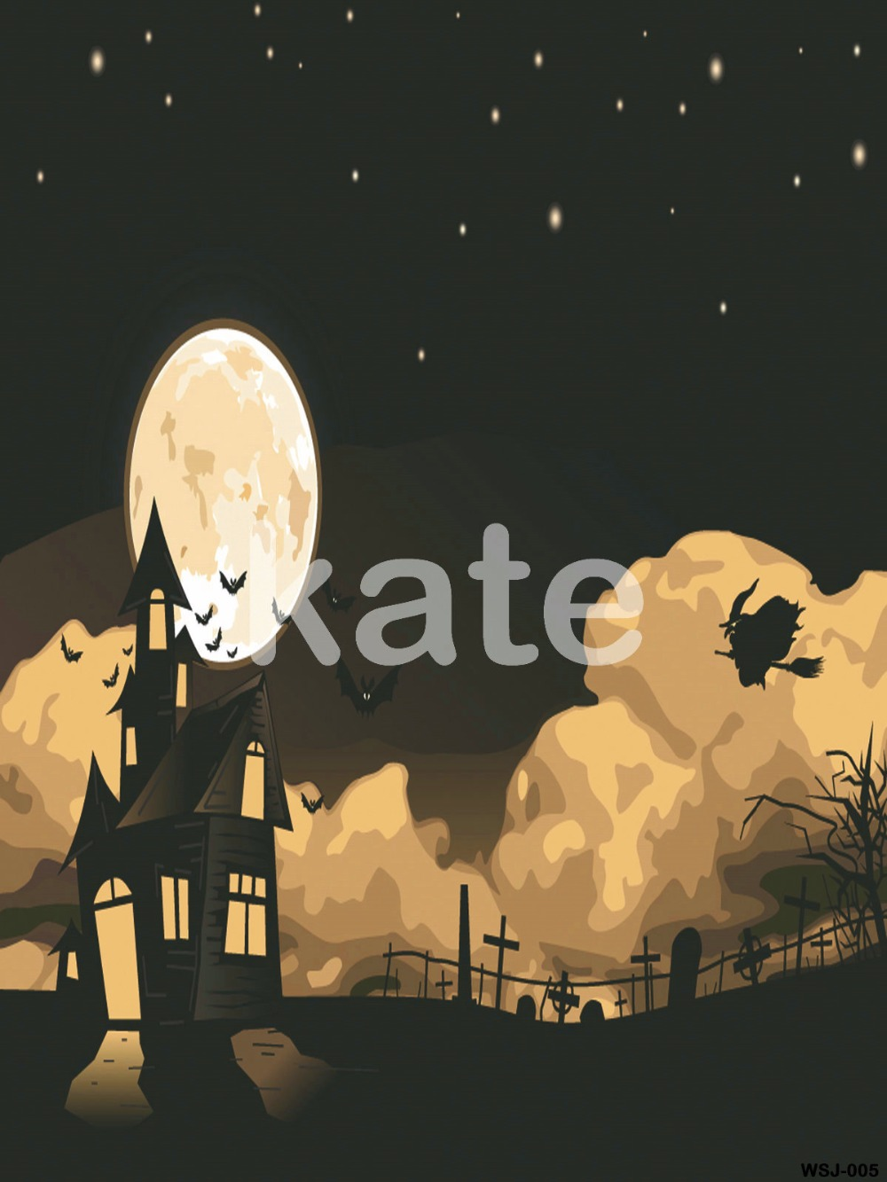 KATE Photography Background Halloween Backdrop Backdrop Photo Studio Moon Naturism Children Photos Backgrounds for Photo Studio free shipping 10pcs lot transistor 13009 e13009 j13009 to 3p original product