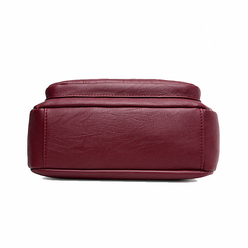 DIZHIGE Brand 2017 High Quality Sheepskin Women Messenger Bags Shoulder Genuine Leather Bags Women Double Zippers Crossbody Bags Multan