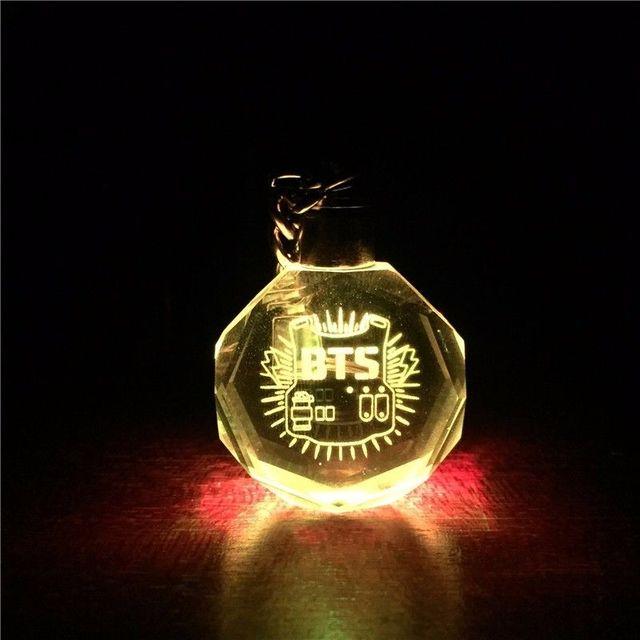 BTS Army LED Keychain Lightup Bangtan