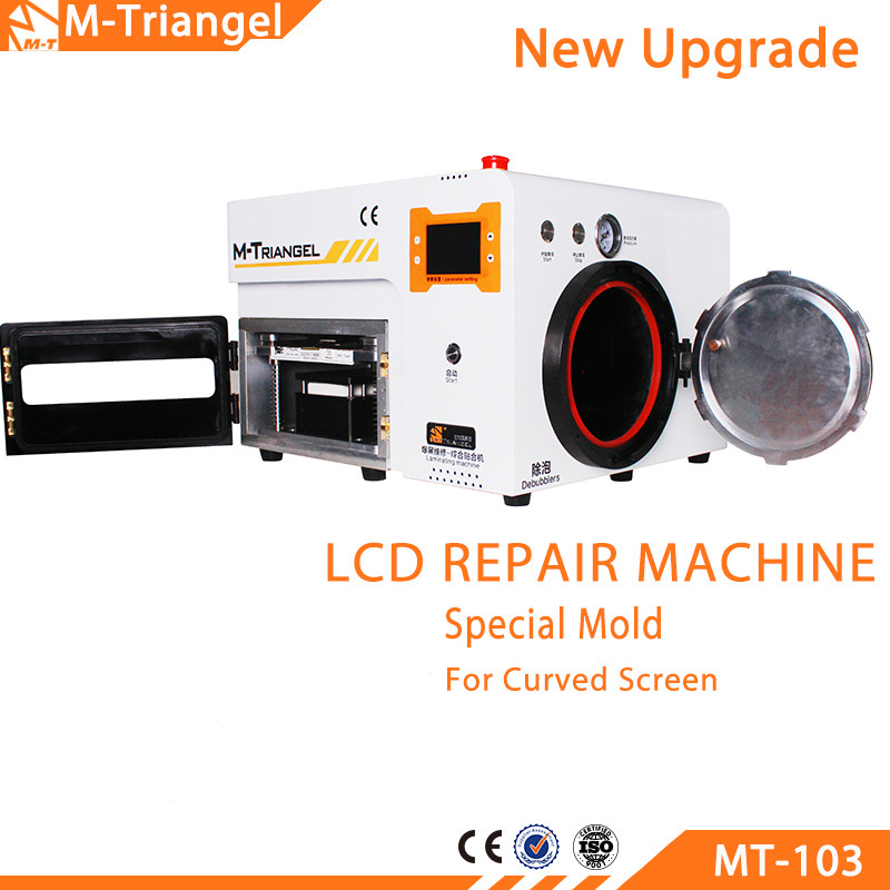 Vacuum Laminating Glass LCD Touch Screen Separator Machine With Built-in Pump 4