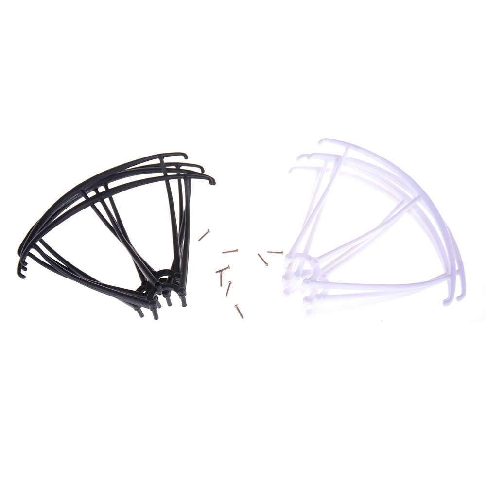 Fit For Syma X5 X5C X5C-1 X5SC X5SW  RC Quadcopter Helicopter Spare Parts Protectors Frame Rotor Blade Protection + 4pcs Screws