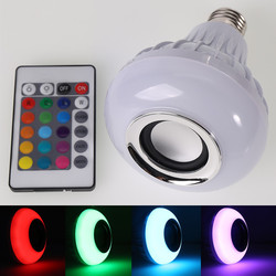 Rgb led lamp wireless bluetooth speaker bulb music playing e27 led lighting with remote control.jpg 250x250